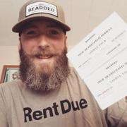 Live Bearded Rent Due T-Shirt - Olive Review
