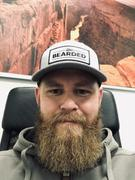 Live Bearded Heather Grey with White Patch Trucker Hat Review
