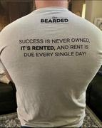 Live Bearded Rent Due Tee - Silk Review