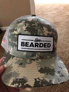 Live Bearded Lifestyle Trucker Hat - Digital Camo Review
