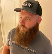 Live Bearded Charcoal & Black Twill Back Trucker Hat with Black Patch Review
