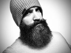 Live Bearded Melange Beanie - Charcoal/Grey Review