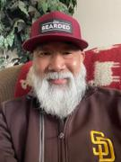 Live Bearded Lifestyle Trucker Hat - Maroon / Black Patch Review