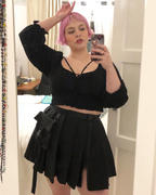 Kate's Clothing Dark In Love Lacerta Mini Skirt Review
