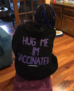 Wren + Glory 'IM VACCINATED!' PAINTED HOODIE Review