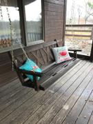 ThePorchSwingCompany.com Porchgate Amish Made Haven 5ft. Porch Swing Review