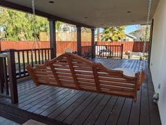 ThePorchSwingCompany.com A&L Furniture Co. Marlboro Red Cedar Porch Swing Review