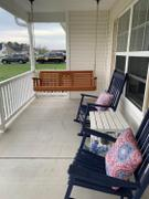 ThePorchSwingCompany.com Porchgate Amish Heavy Duty 700 Lb Rollback Console Treated Porch Swing Review