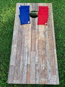 American Cornhole Association Rustic Wood Regulation Cornhole Boards Bag Toss Game Set Review