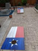 American Cornhole Association Texas Flag Regulation Cornhole Boards Bag Toss Game Set Review