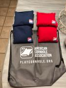 American Cornhole Association Navy Blue All Weather Cornhole Bags Review