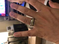 Hitched Tungsten Meteorite Inlay 8mm Review