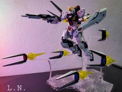 USA Gundam Store Νu Gundam Fin Funnel Effect Set Char's Counterattack, Bandai Spirits RG 1/144 Review