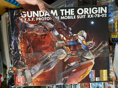 USA Gundam Store MG 1/100 RX-78 Gundam Origin Review