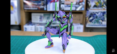 USA Gundam Store RG EVA-01 DX Transport Stand Set Review