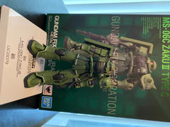 USA Gundam Store Gundam Fix Figuration Metal Composite MS-06C Zaku II Type C Review