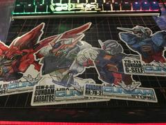 USA Gundam Store Sticker Pack! (June-July-August) Review