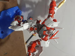 USA Gundam Store RG 1/144 MBF-P02 Gundam Astray Red Frame Review