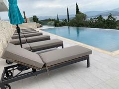 Alexander Francis Milano Sunbrella White Fabric Outdoor Sun Lounger Set Review