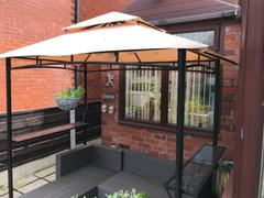 Gazebo Spare Parts CLEARANCE - Canopy for 2.5m x 1.5m Patio Gazebo - Two Tier Review