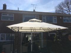 Gazebo Spare Parts Canopy for 2.5m x 2.5m Patio Gazebo - Two Tier Review