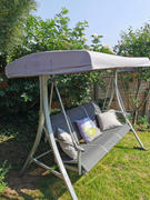Gazebo Spare Parts Canopy for Curved Swing Hammock - 191cm x 120cm Review