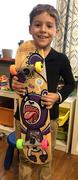 Bryan Tracey SkateXS Purple Panda Advanced Complete Skateboard for Kids Review