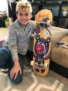 Bryan Tracey SkateXS Purple Panda Pro Complete Skateboard for Kids Review