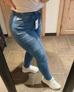 Famme Mid Blue High Skinny Jeans Review