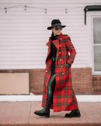 Holland Cooper Full Length Marlborough Trench Coat (Red Tartan) Review
