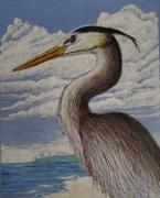 Ann Kullberg Mark Menendez: Great Blue Heron Colored Pencil Tutorial Review