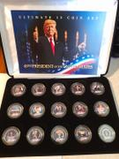 Proud Patriots Donald Trump - Ultimate 15-Coin 24K Gold Plated Washington DC Quarter Set with Premium Display Box Review