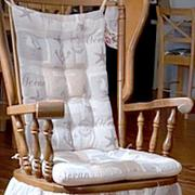 Barnett Home Decor Gulls Point Rocking Chair Cushions - Latex Foam Fill Review
