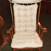 Barnett Home Decor Brisbane Natural Rocking Chair Cushions - Latex Foam Fill Review