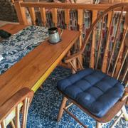 Barnett Home Decor Rave Indigo Blue Indoor / Outdoor Dining Chair Cushions & Patio Chair Cushions Review