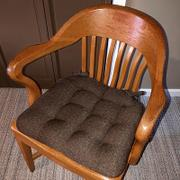 Barnett Home Decor Brisbane Brown Dining Chair Pads - Latex Foam Fill, Reversible - Made in USA Review