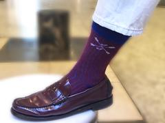 Southern Scholar The Perfect Patriots - A Red and Blue Rugby Stripe Sock Review
