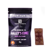 My Supply Co. 80mg 1:1 Halley's Comet Grape Jelly Bomb Review