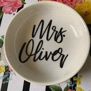 Simple & Sentimental Personalized Mrs Ring Dish Review