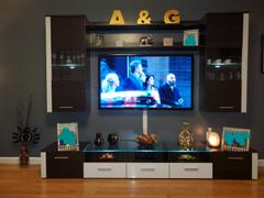 Meble Furniture Fresh Modern 98 Wall Unit Entertainment Center Review