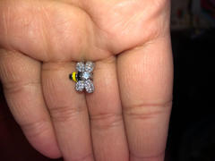 Brandywine Boutique Zircon Bee Stud Earrings Review