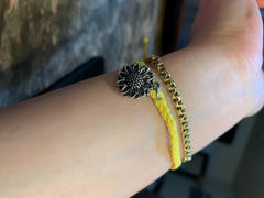 Brandywine Boutique Vintage Sunflower Bracelet - Yellow Review