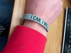 Elite Athletic Gear I CAN. I WILL. Wristband Review