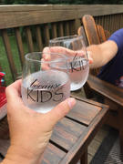 Kona BBQ Store LOL Stemless Wine Glasses  (Set of 4) Review