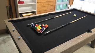 Deal Mart Skark 7ft Pool Table (Black Felt) Review