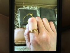 By Invite Only Jewellery Gold Triple Stacking Ring Review