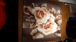 Diamond Painting France Broderie Diamant – Rose d'Or Review