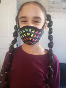 MASQD Rainbow Heart Face Mask - Kids Review