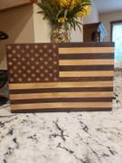 Copper State Custom American Flag End-Grain Cutting Board Review