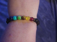 The Crystal Elephant 7 Chakra Bracelet Lava Rock Review